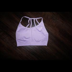 GYMSHARK - seamless energy bra (lilac)